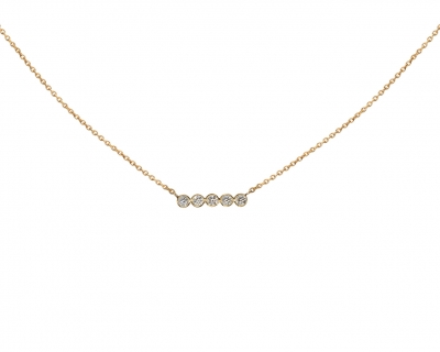 SAND DIAMOND NECKLACE