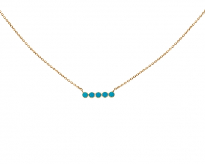 SAND TURQUOISE NECKLACE