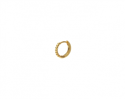 MINE GOLD HOOP