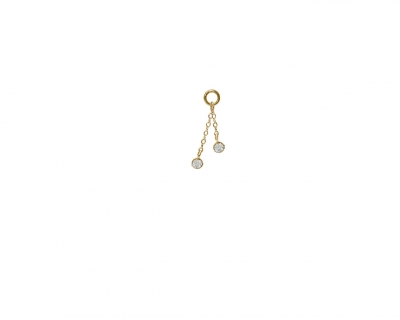 2 CHAINS DIAMONDS CHARMS
