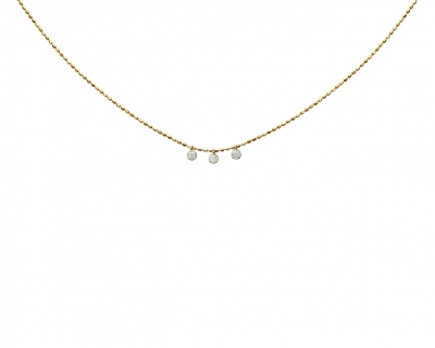 DIAMONDS DROP CHOKER