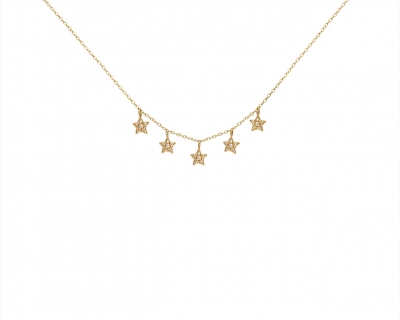 NECKLACE 5 STARS