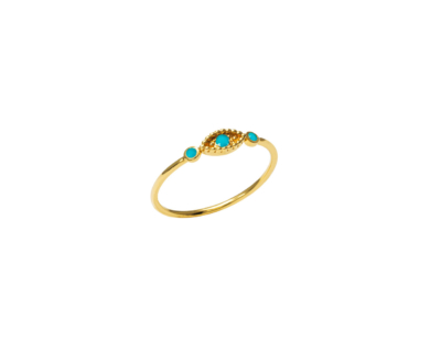 Bague Oeil Turquoise