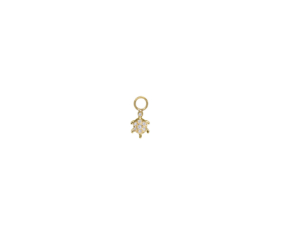 Charm BO Tortue Diamants