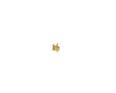 BO Stud Tortue diamants