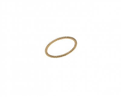 SOLID YELLOW GOLD MINE RING